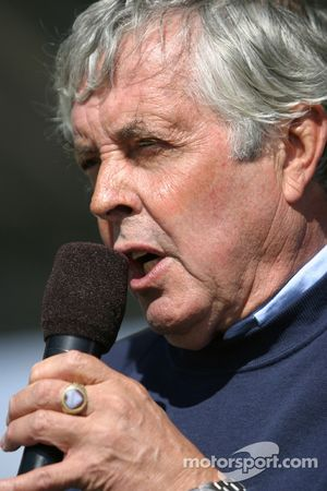 Good Year Legends induction ceremony with Brian Redman