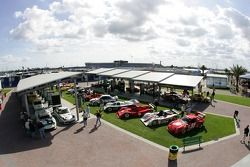 Vue d'ensemble de la course d'exhibition Rolex 24 Heritage