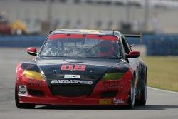 #08 Goldin Brothers Racing Mazda RX-8: Steve Goldin, Keith Goldin, Scott Finlay, Scott Richards