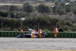 Nico Rosberg gravel