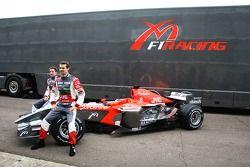 Tiago Monteiro ve Christijan Albers ve yeni MF1 Racing M16