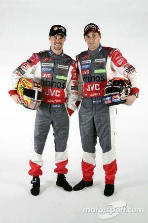 Tiago Monteiro ve Christijan Albers