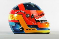 Casque de Adrian Sutil