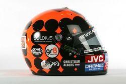 Helmet of Christijan Albers