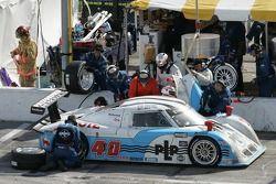 Pitstop for #40 Derhaag Motorsports Pontiac Riley: Chris Bingham, Randy Ruhlman, Ron Fellows, Justin