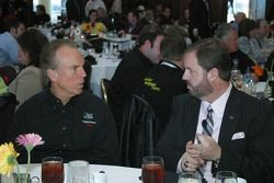 Eddie Gossage and Roger Staubach