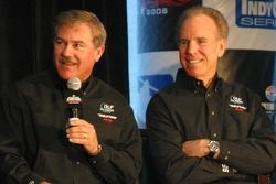 Terry Labonte and Roger Staubach