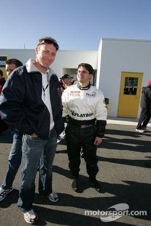 Darren Law et Mike Borkowski