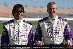 Christian Fittipaldi et Eddie Cheever
