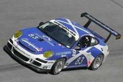 #83 Farnbacher Loles/ Orbit Racing Porsche GT3 Cup: Dominik Farnbacher, Mike Fitzgerald, Pierre Ehre