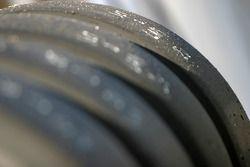Les pneus prêts pour les qualifications