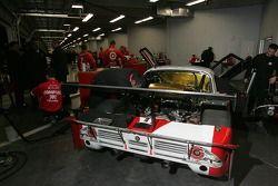 Chip Ganassi garage area