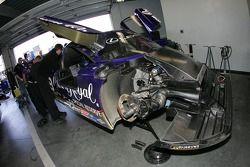 Cheever Racing garage area