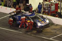 Red Bull/Brumos Porsche Fabcar: David Donohue, Darren Law, Sascha Maassen