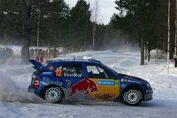 Mattias Ekström and Stefan Bergman