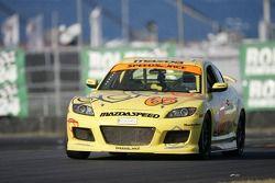 #65 SpeedSource Mazda RX-8: Ray Huffmaster, Rob Huffmaster