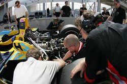 Highcroft Racing team members at work