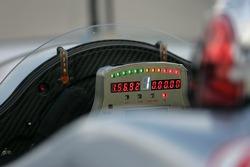 Steering wheel of the Audi R10