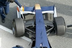 Detail of the new Torro Rosso STR1
