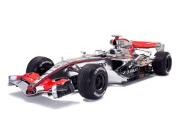The McLaren Mercedes MP4-21 with its new and unique livery