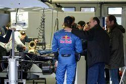 Scott Speed and Gerhard Berger