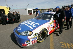 GMAC Chevy at tech inspection
