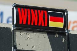 Pitboard for Markus Winkelhock