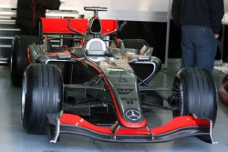 Detail of the McLaren MP4-21