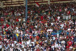 Des fans à Sentul