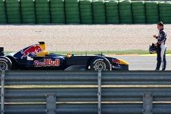 Christian Klien stopped on track