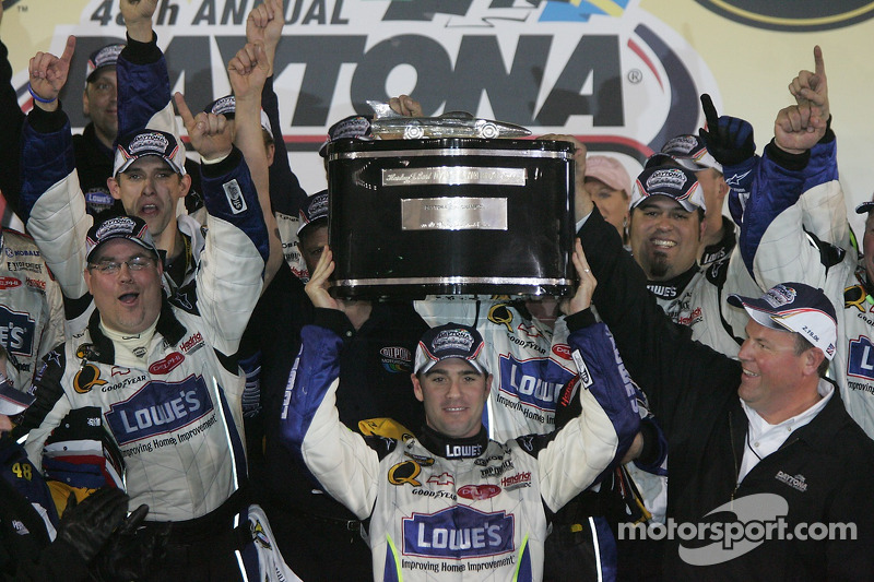 Winning the Daytona 500
