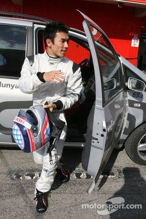 Takuma Sato de retour au stand