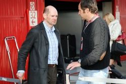 Adrian Newey et Gerhard Berger