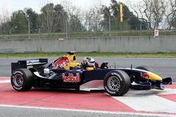 Christian Klien arrêté sur la piste à cause d'un problème moteur