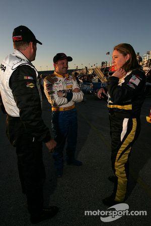 David Reutimann, Jack Sprague et Kelly Sutton