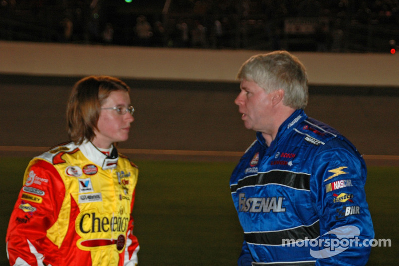 Erin Crocker et Bobby Hamilton