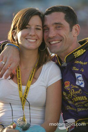 Max Papis avec sa femme Tatiana