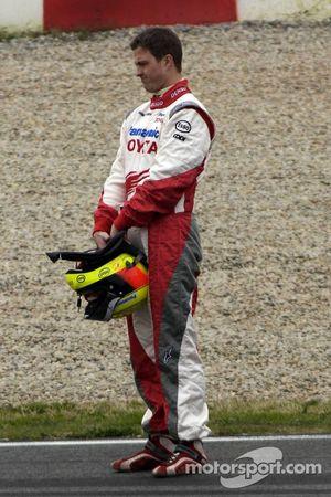 Ralf Schumacher après son tête-à-queue