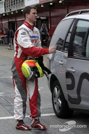 Ralf Schumacher de retour dans les stands