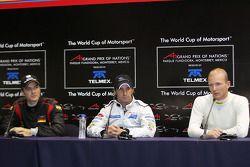 Conférence de presse: Timo Scheider, Matt Halliday et Alexandre Premat