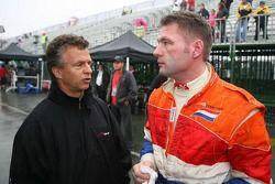 Jan Lammers en Jos Verstappen