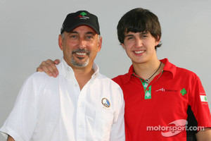 Bobby Rahal and son Graham back in 2006