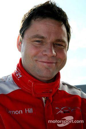 Simon Hill le pilote de la voiture de sécurité