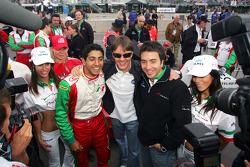 Salvador Duran, Adrian Fernandez et David Martinez