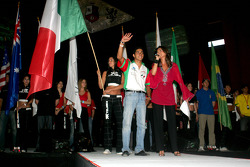 Concert de RBD à la Monterrey Arena: Salvador Duran