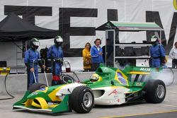 Arrêt au stand pour Christian Fittipaldi