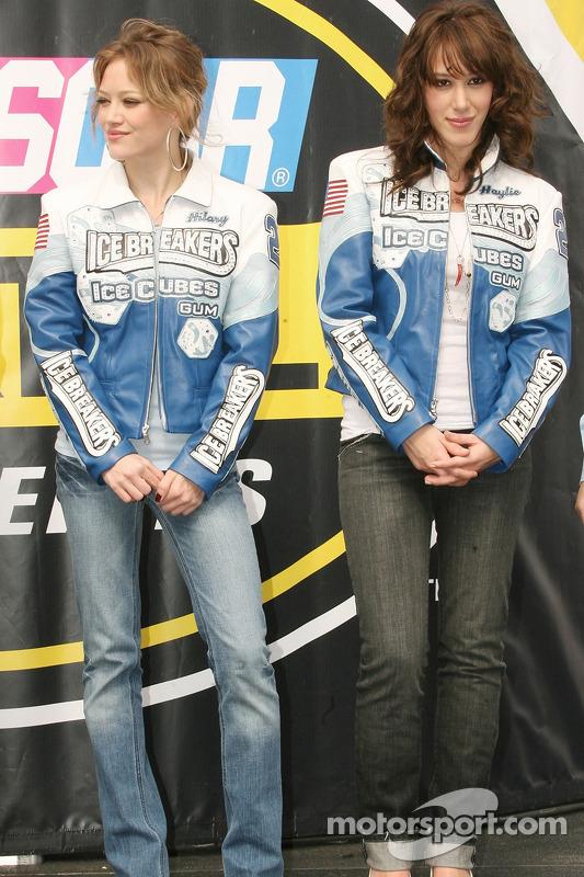 Hilary et Haylie Duff