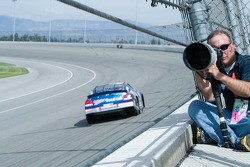 Typical location for photographer during the race
