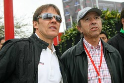 Adrián Fernández y Jo Ramírez