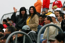 Des fans à Monterrey